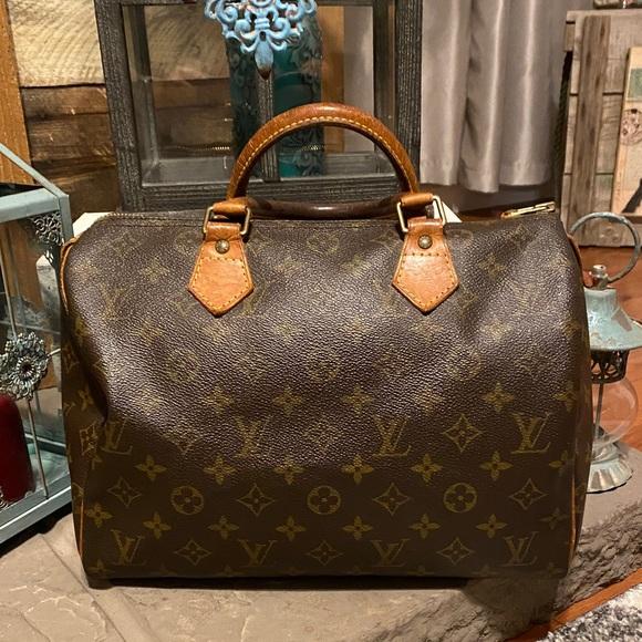 Vintage Louis Vuitton Speedy 30 👜 💯% Authentic